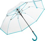 Parasol FARE 7112-transparent-turkus